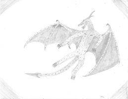 Eudraco oropterus Art Trade by SMS00