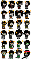 Homestuck Lowblood Auction/Adopts [CLOSED] by Roenais
