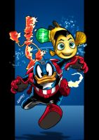 Disney Invaders by PencilInPain