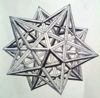 Stellated Dodecahedron 1 by tomholliday