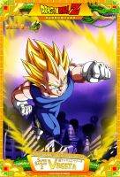 Dragon Ball Z - Super Saiyajin 2 Vegeta M13 by DBCProject