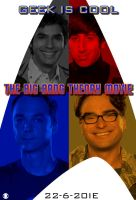 TBBT Movie Poster by Alecx8