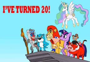 I've Turned Twenty! by kylgrv