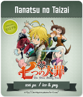Nanatsu no Taizai - Anime Icon by Darklephise