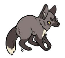Sly Silver Foxie by coyvid