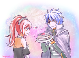 Jerza Happy Valentine .:Request:. by Inspired-Destiny