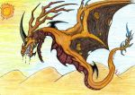 Entry 1 Contest  werid dragon by DragonHeartLuver