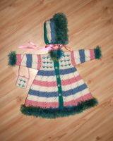Multi-coloured coat for dolls by ToveAnita