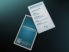 CPDD-Fletch Clean Business Card Template by CPDigitalDarkroom
