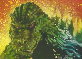 Godzilla by JeffLafferty