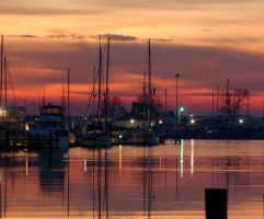 Sunrise over the Marina by jhg162