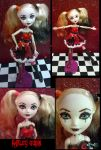 Harley Quinn doll by Lttle-Horrors