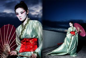 A Geisha's Journey by Rizq3d
