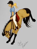 Forever a Bronc by Palominobrumbyfilly