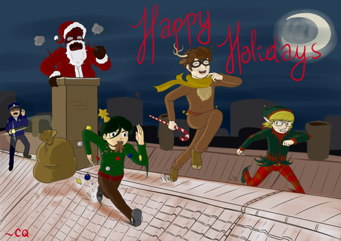 Happy Holidays from CQ by CaptainQuestion