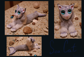 Sea Cat figure by Suzamuri