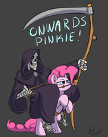 ONWARDS PINKIE by atryl