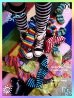J'adore le socks by Lepke
