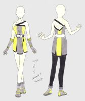 Fashion Comp - 1 redesign by firedancer-clothes