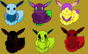 Eevee pets. by MotherRussiaWins
