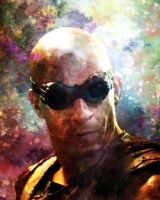 Richard B. Riddick up close by crimsonvermillion