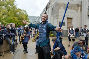 2014 Honk Festival, Chaotic Noise and Conductor 11 by Miss-Tbones