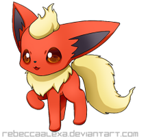 Flareon Icon by RebeccaAlexa