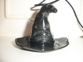 Sorting Hat Necklace by QueenAliceOfAwesome