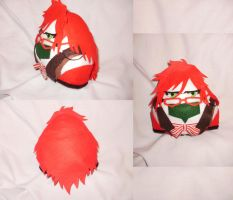 Cosplay Onigiri - Grell by merlinemrys