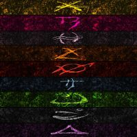 Pillars of Nosgoth Symbols by HANxOPX