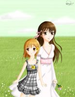 Fruits Basket Tohru and Kisa by DreamerWhit