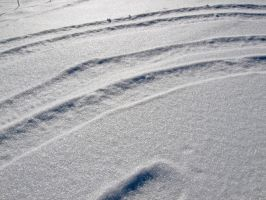Snow Surface III by Baq-Stock