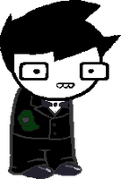 Sprite Edit - John Egbert(John Bond) by N1ght1ng4L3