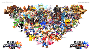 Super Smash Bros Wii U / 3DS Wallpaper by seancantrell