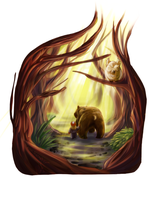 The Bears Forest by Quidfish