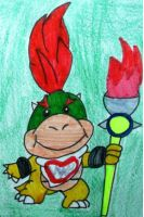 Bowser Koopa Junior. by paratroopaCx