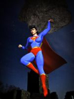 Super Woman and the Meteor by MollyFootman