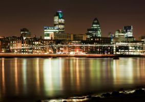 London at Night 1 by CGNServices