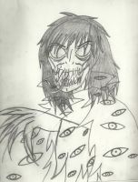 Demonic Marquis (sketch) by Dysfunctional-H0rr0r