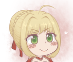 Saber Red - Ohayou! by LittleShoes