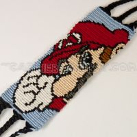 Mario Friendship Bracelet by CarrieBea