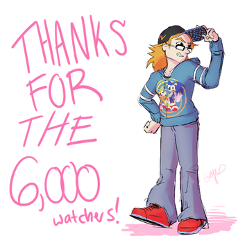 Thank you for the 6000 watchers by Gigi-D