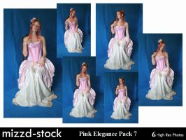 Pink Elegance Pack 7 by mizzd-stock