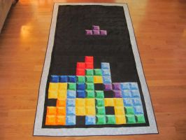 Tetris Quilt Version 2 by quiltoni