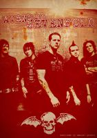Band Poster: A7X by elcrazy