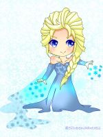 Queen Elsa by Silverenchantress