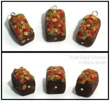 Fruit Cake Charms by chat-noir