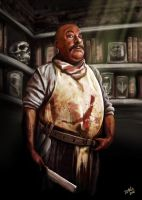 The Butcher by ismaelArt
