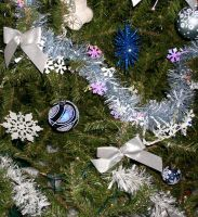 Blue Tree Ornaments 2 by dkimber