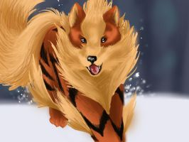 arcanine by Sparkly-Monster